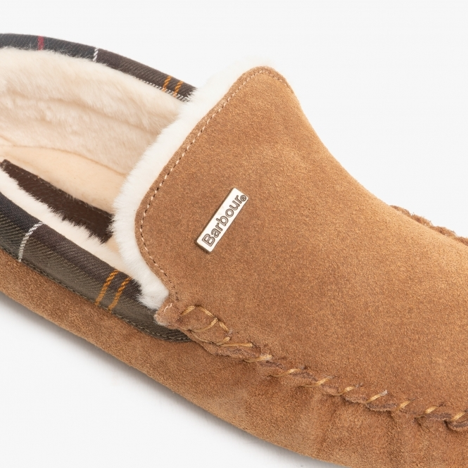 Mules Scuffs Slippers Camel Padders NEVIS Mens Comfy Suede Leather Wide G Fit