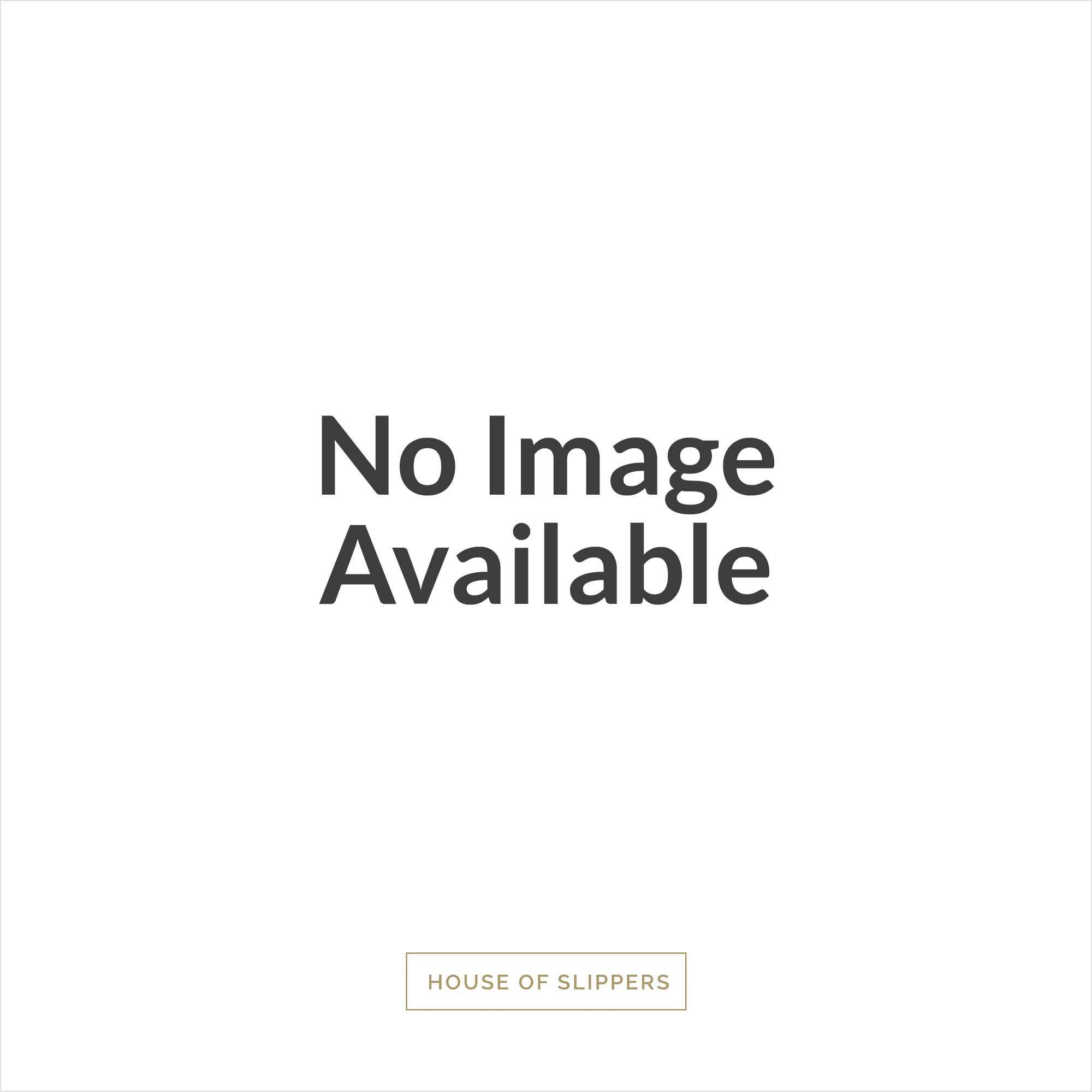 chaleur luca mens leather mule slip on slippers black house of slippers