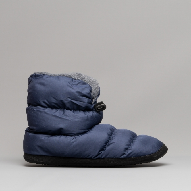Cotswold Camping Ladies Warm Boot Slippers Navy House Of
