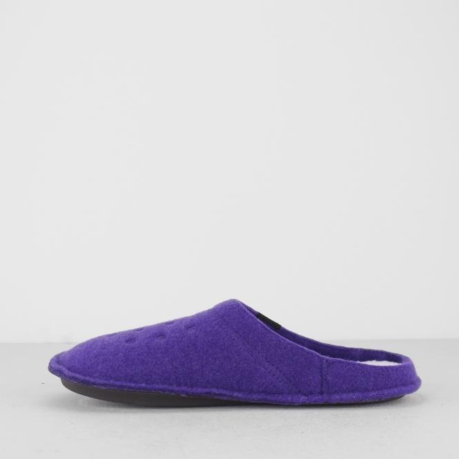 484399709eb8 Crocs 203600 CLASSIC SLIPPER Ladies Mules Ultraviolet Oatmeal