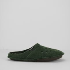 Crocs 203600 CLASSIC SLIPPER Unisex Mules Forest Green/Oatmeal