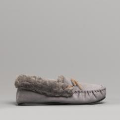 ce70548fb084 ELOISE Ladies Moccasin Slippers Grey. Dr Keller ELOISE ...
