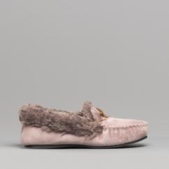 4f2781bfb09 ELOISE Ladies Moccasin Slippers Mauve · Dr Keller ...