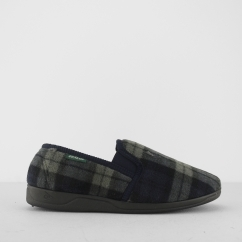 AMABLE Mens Slippers Navy