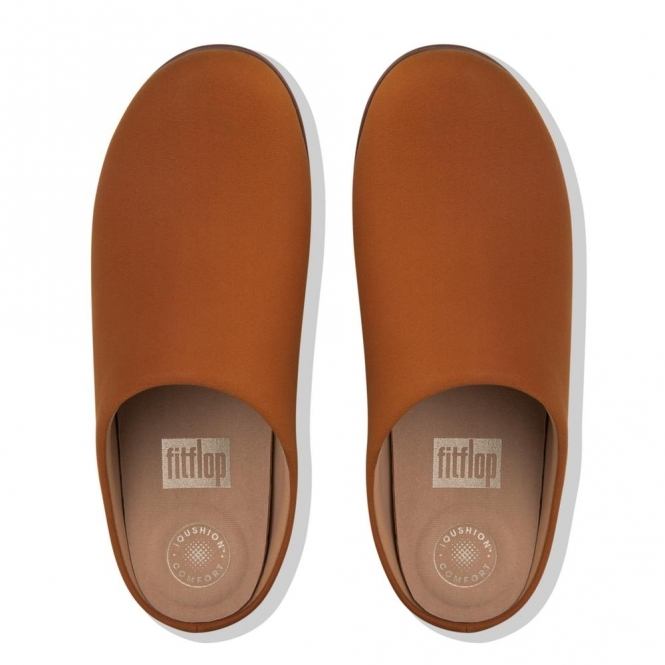 fd5bd2700 FitFlop CHRISSIE Ladies Mule Slippers Tumble Tan