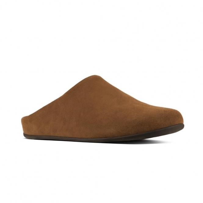 attractive price buy popular the cheapest FitFlop SHOVE Q29-277 Mule Slippers Tan | House of Slippers