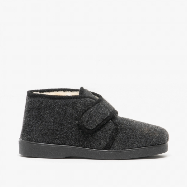 House Of Slippers Bentley Mens Touch Fasten Slippers