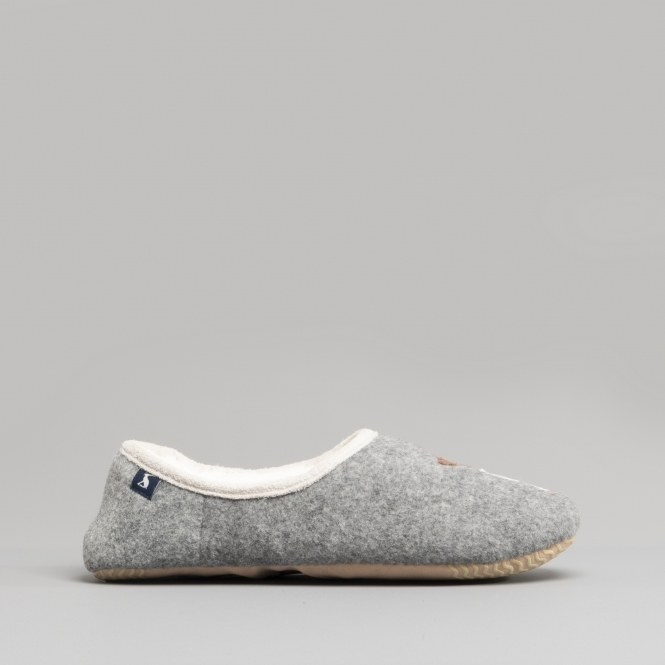 Joules SLIPPET Mule Slippers Grey