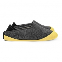 CLASSIC Slippers Larvik Dark Grey/Skane Yellow (Sole Included)
