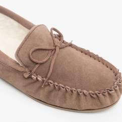 MOKKERS Jake MS161 cuir pleine mocassin MADE IN ENGLAND Slippers
