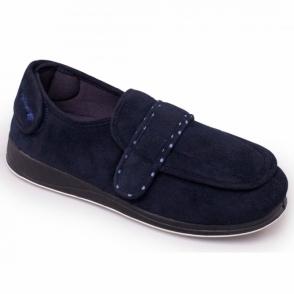 fec141354ed Padders ENFOLD Ladies Full Velcro Slippers Burgundy | House Of Slippers