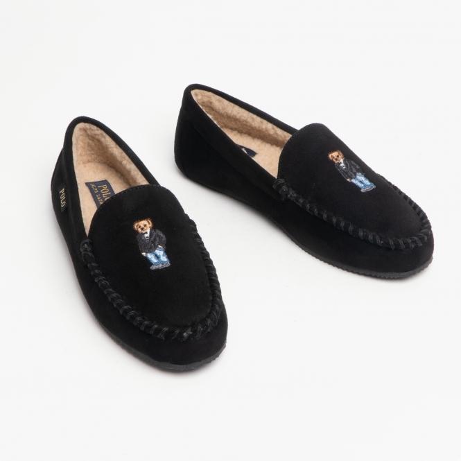 ralph lauren mens moccasin slippers