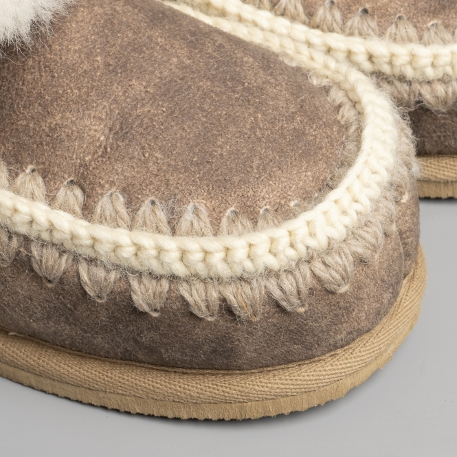 0303e0587a0 Shepherd PIA Ladies Bootie Slippers Antique Creme