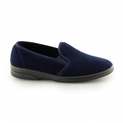 ANTHONY IV Mens Full Slippers Navy