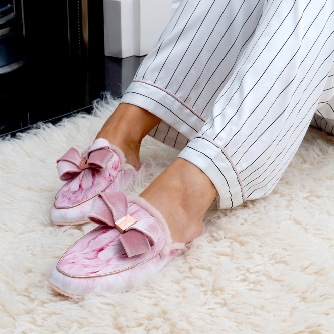 2047885c8c03 Ted Baker BHAYBES Ladies Moccasin Slippers Angel Falls