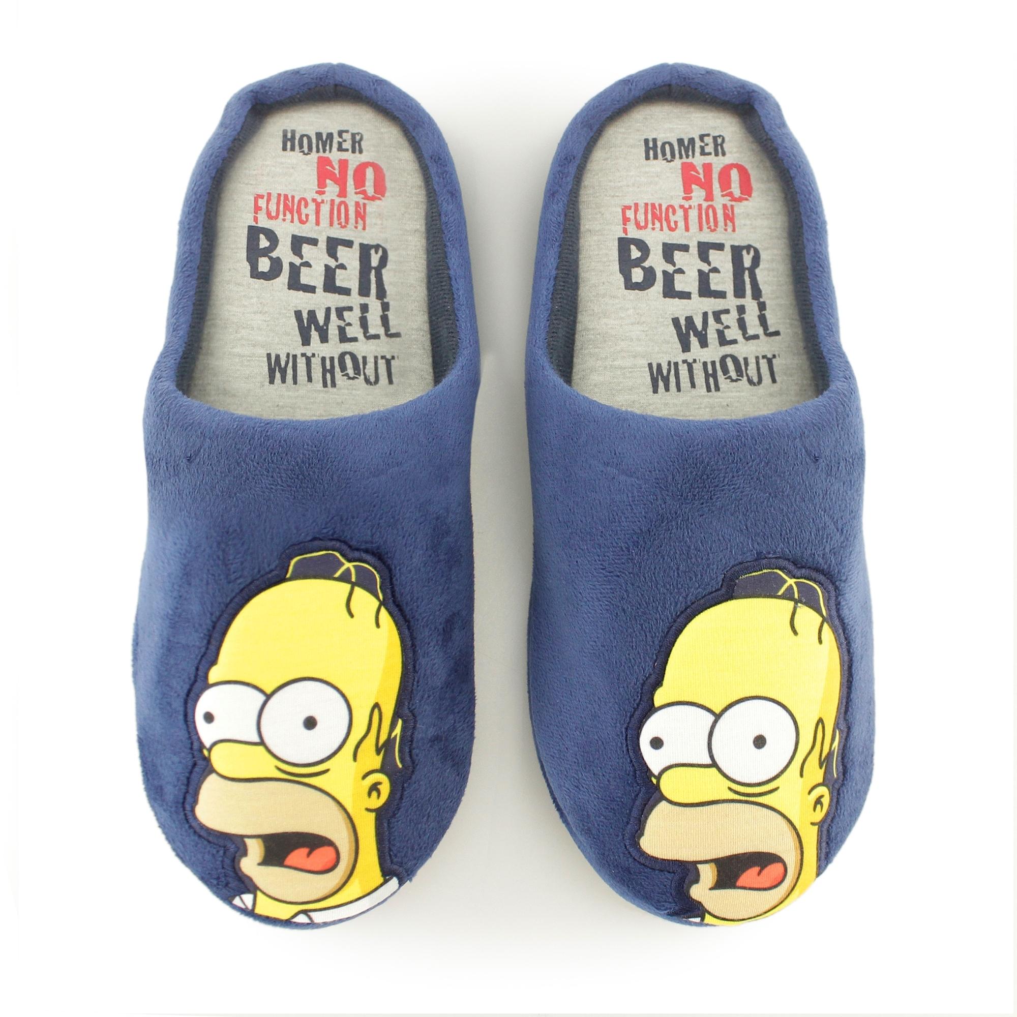 Mens Homer SIMPSON Novelty Comfy Beer