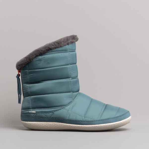 Toms Inez Ladies Quilted Bootie Slippers Blue