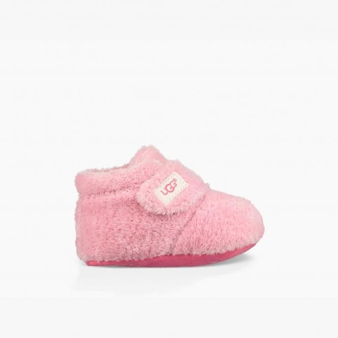 e8bb915d92475 BIXBEE Infants Boot Slippers Bubblegum