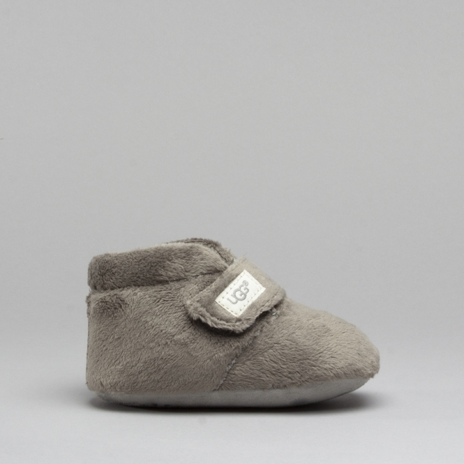 3456f70d6de UGG BIXBEE Infants Boot Slippers Charcoal