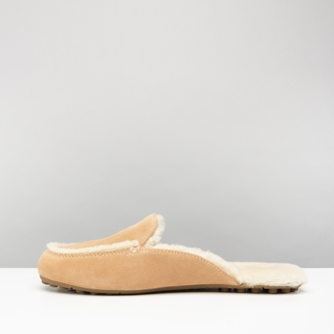 be881e4ff1a UGG LANE Ladies Loafer Slippers Suntan