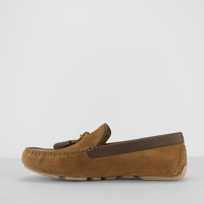 cce66a5eff9f UGG MARRIS Mens Suede Loafer Slippers Chestnut