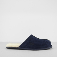 SCUFF Mens Mule Slippers Navy