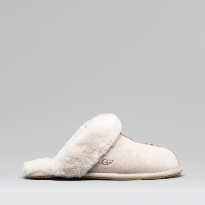 90ffcd18d88e UGG SCUFFETTE II Ladies Suede Mule Slippers Oyster