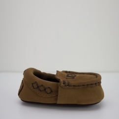 SIVIA Infants Moccasin Slippers Chestnut