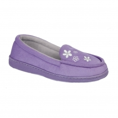 KAITLYN Ladies Full Slippers Lilac